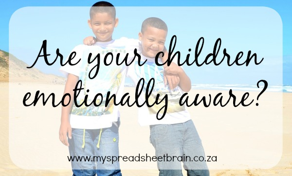 Are your kids emotionally aware