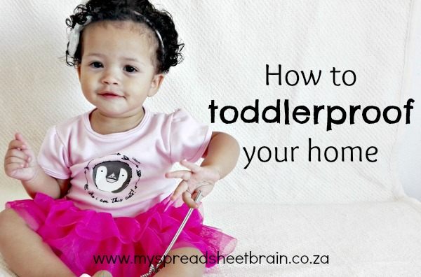 toddlerproof your home