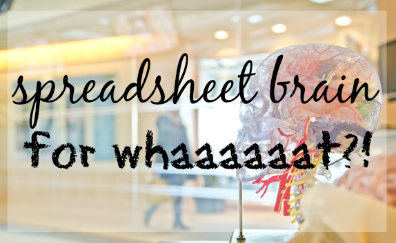 spreadsheet brain
