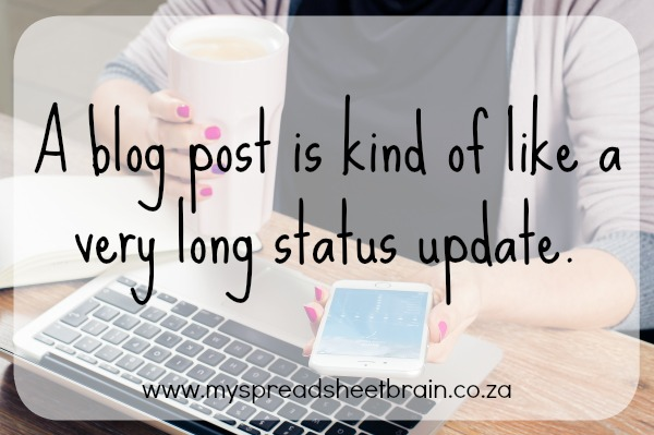 this is why i blog