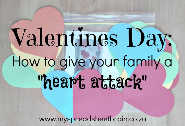"Give your family a ""heart attack"""