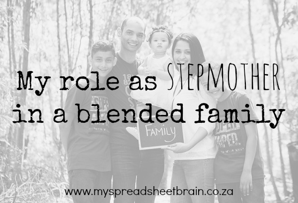my role as a stepmom
