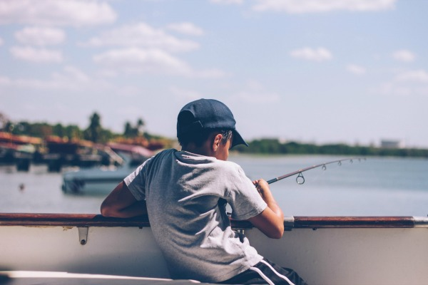 Ultra fisher - fishing with your teen
