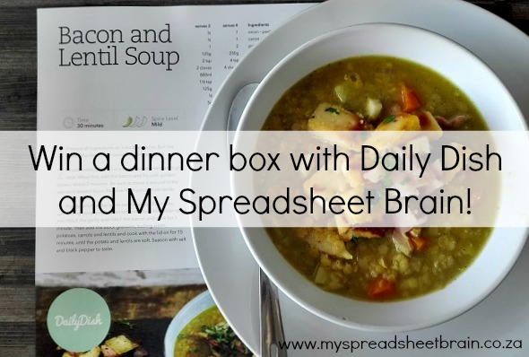 Win a Daily Dish meal box